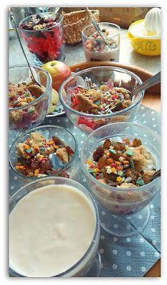 jogurt naturalny z jabłkiem, jabłkowy deser