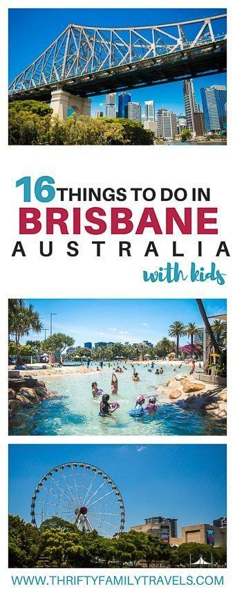 Family Guide to Visiting Brisbane: All the top places to visit in Brisbane (including free must do Brisbane tourist attractions); where to stay in Brisbane (includes self contained apartments and hotels), best cafes in Brisbane (includes supermarket & food court locations) & how to get around on free public transport. | Things to do in Brisbane Australia |