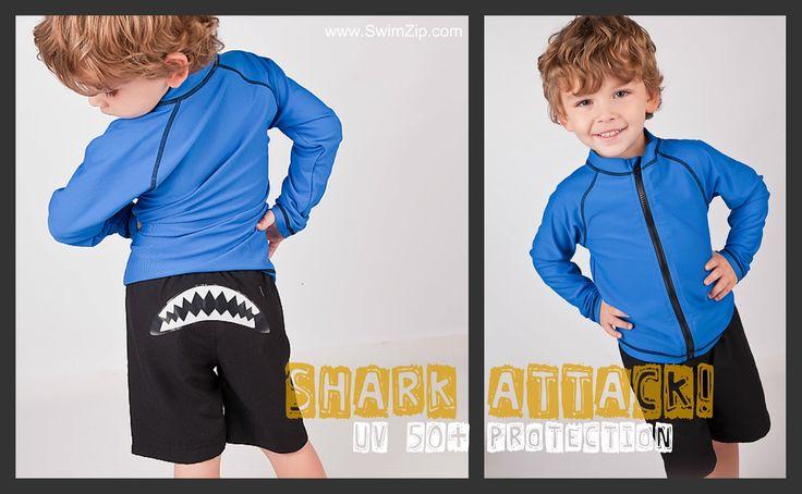 Award Winning Long Sleeve Swimwear for Kids
