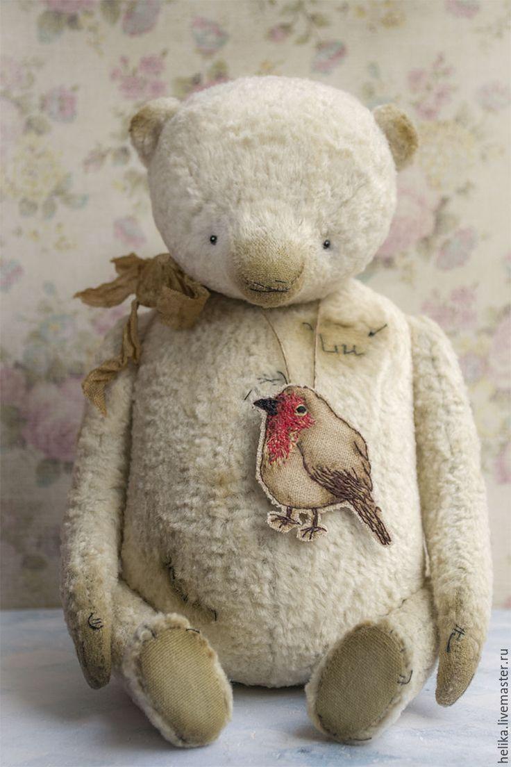 Купить Луша - мишки тедди, мишка, тедди, теддик, медвежонок, игрушка ручной работы