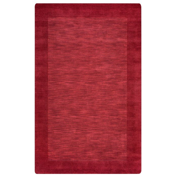 Hand Woven Red Area Rug Wool Area Rugs Area Rugs Rugs