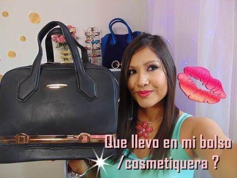 TAG¡ QUE LLEVO EN MI BOLSO/COSMETIQUERA? snacks saludables,maquillaje,co...