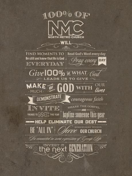 Inspiration   Vintage Typography Poster By Tomasz Biernat