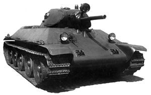 Т-34 образца 1940 года
