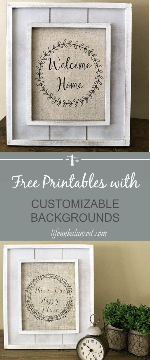 Make your guests feel welcome as soon as they enter with this Be Our Guest free printable. Simply print, trim to fit a 4x6 frame and put on display.