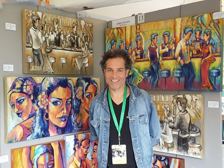 L'artiste Jordi Dufour sera au Symposium Arts et Reflets de Château-Richer les 11, 12 et 13 août prochain. #jordidufour #artpeintjordi