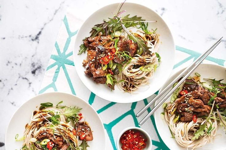 A quick and nutritious, asian-fusion noodle dish that will have the whole family going back for seconds.