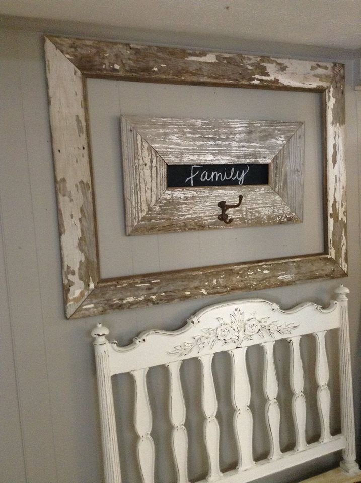 LOVE old chippy wood! We make these frames from wood left over from making farm tables! https://www.facebook.com/pages/Dumpster-Diva/265520813490127