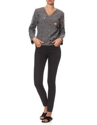 Black Hoxton Skinny Jeans