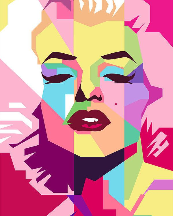 Marylin Monroe Poster By Ahmad Nusyirwan All Posters Are Professionally Printed Packaged And Shipped Within Pop Art Decor Pop Art Marilyn Pop Art Portraits