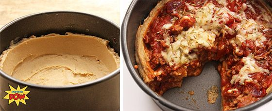 Bodybuilding.com - Ask The Protein Powder Chef: Do You Have A Recipe For Protein Pizza crust deep dish