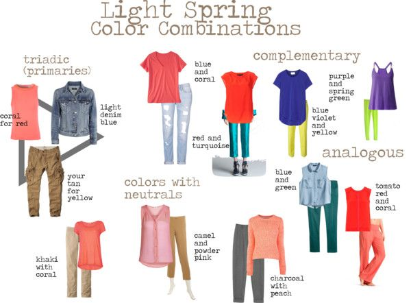 Light Spring Color Combinations