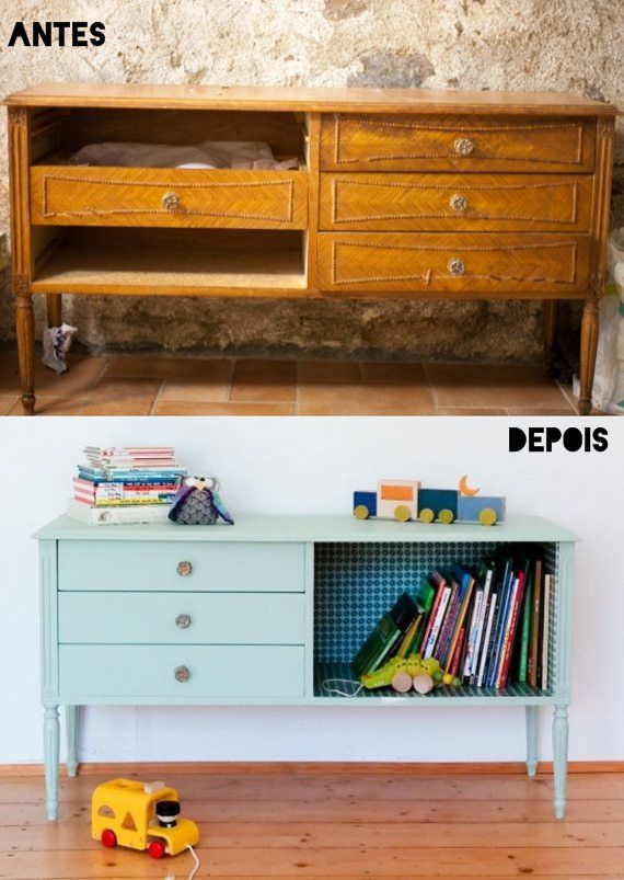 Personalizando móveis de madeira