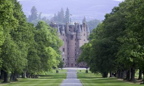 Glamis Castle...Watch out for the tongueless woman!!!!!