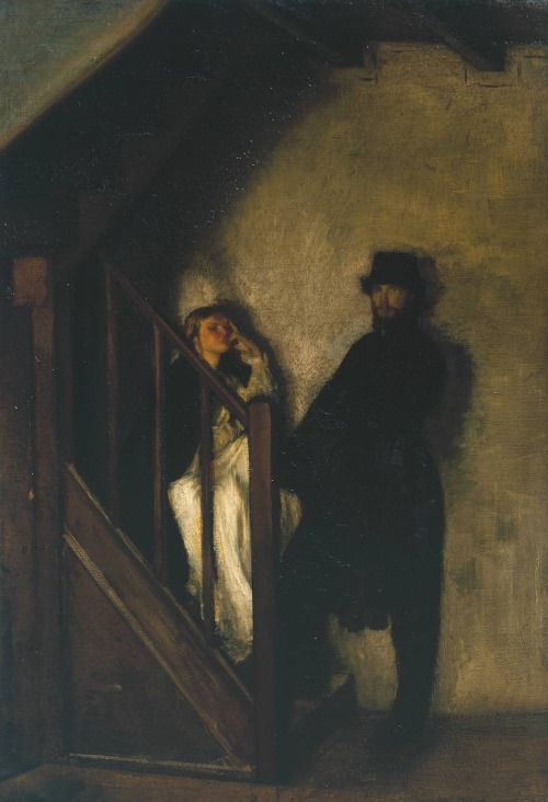 """The Doll's House"", 1899-1900, Sir William Rothenstein"
