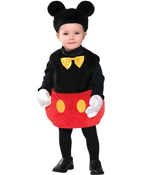 Baby Disney Mickey Mouse Costume - Party City MY BROTHER IS BEING THIS