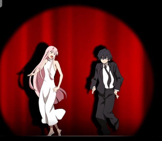 Zero Two Dances With Hiro Darlinginthefranxx Darling In The Franxx Zero Two Best Waifu