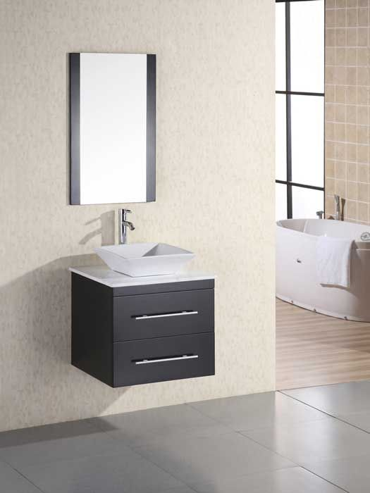 whats the standard depth of a bathroom vanity
