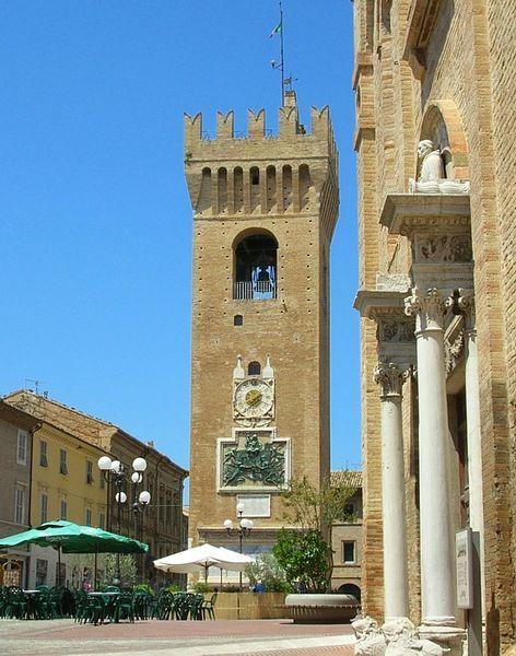 Torre civica, Frazione Montesicuro, Ancona, Italy
