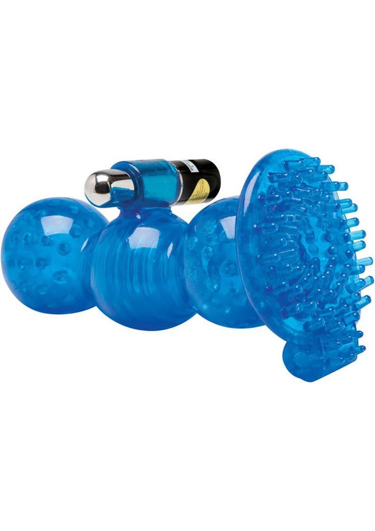Buy Adam And Eve Cyberskin 5x Vibrating Royal Grip Stroker Waterproof 5.5 Inch Blue online cheap. SALE! $26.49