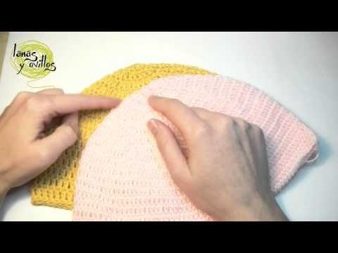 Cómo se adaptan los gorros tejidos a los distintos tamaños / Tutorial | Crochet y Dos agujas - Patrones de tejido