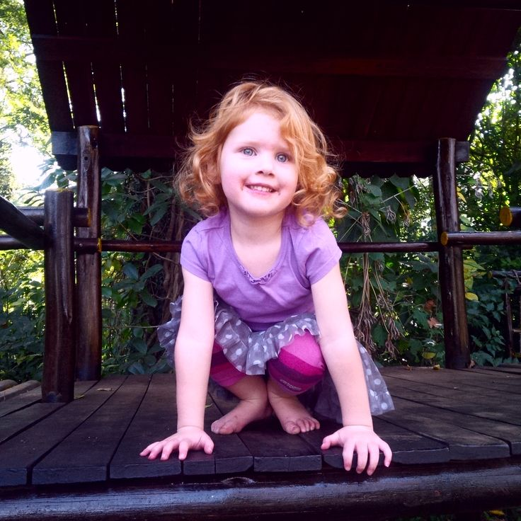 My very own little Goldilocks :)