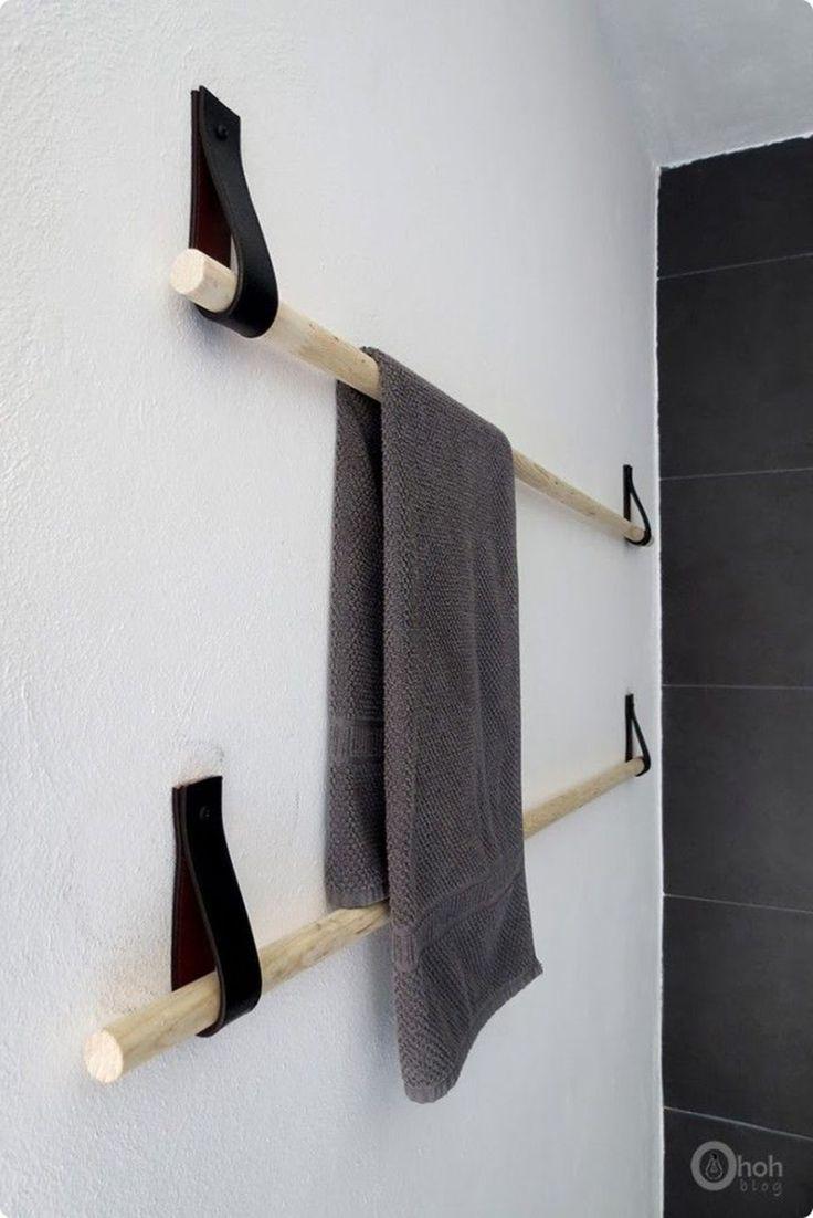 DIY Towel Rail