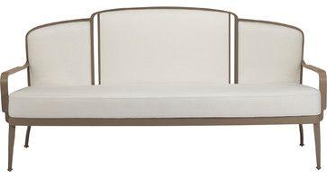 Barbara Barry Bowmont Outdoor Settee: BB-13 - Traditional - Outdoor Sofas - San Francisco - McGuire Furniture Company