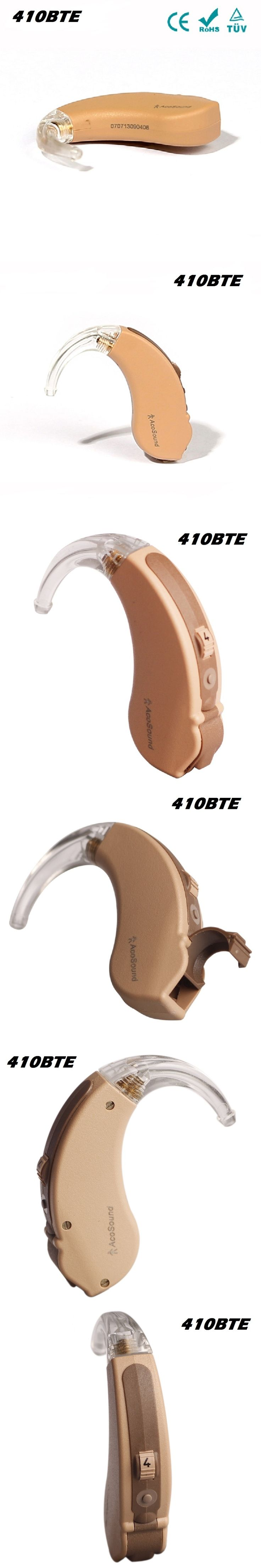 Invaxe 410 BTE Sound Amplifier Hearing Aid Device Programmable Mini Hearing Aids BTE In Ear Hearing Amplifier