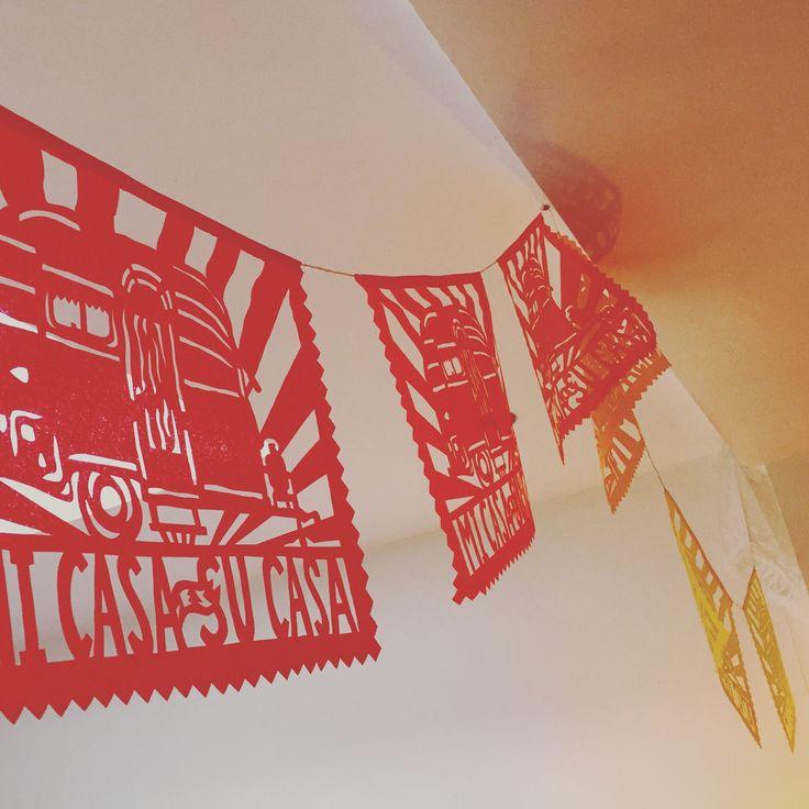 I ❤️ this Mi Casa es Su Casa Banner by @aymujer on @etsy - feels like #Fiesta even in rainy London #myhouseisyourhouse #micasasucasa