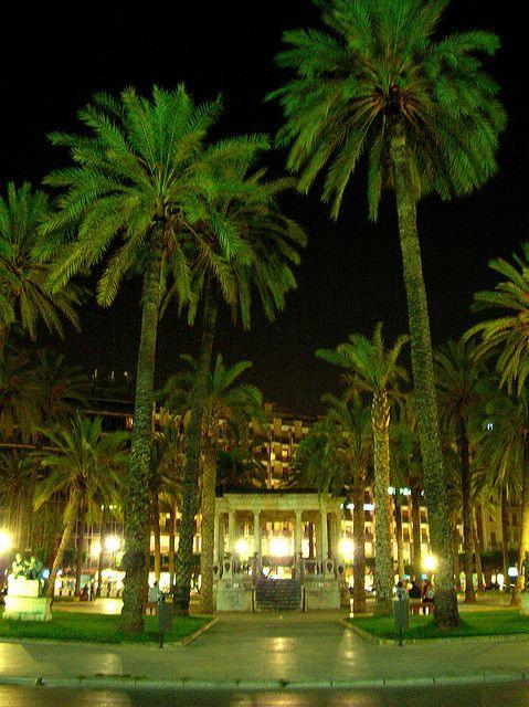 Palermo, Sicily, Italy I think it's Piazza Castelnuovo, opposite the Politeama theatre.
