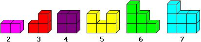 "Soma Cubes: ""The main problem of the Soma 'research' is to assemble the seven Soma pieces or 27 cubelets to make a 3x3x3 cube. The chance of solving thi..."""