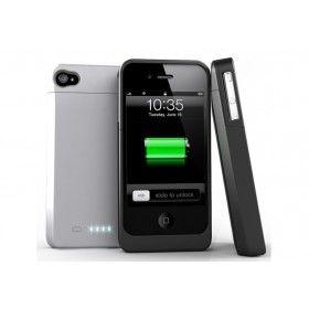 Funda Bateria iPhone 4 uNu DX http://www.tucargadorsolar.com/funda-bateria-iphone-4-4s-unu-dx.html
