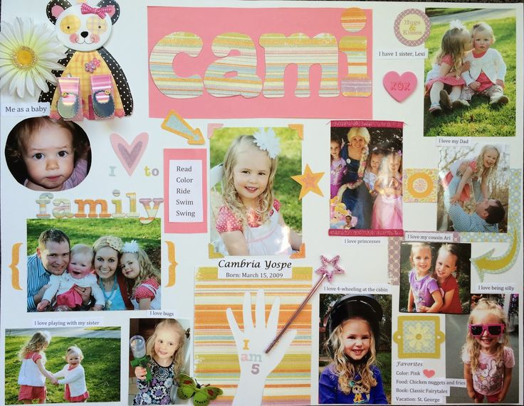It's only just begun...: A Preschool All About Me Poster