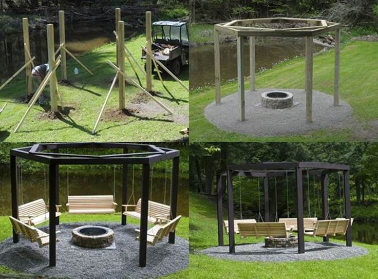 Backyard fire pits are one of the most popularfeatures that many people want to add to their gardens or backyards. They are practical, attractiveand createa cozy and intimate space for outdoor entertaining. Thesebackyard fire pits with swing seats look awesome!If you have a very large backyard and would like to …