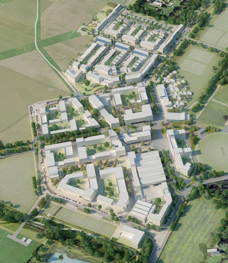 Bustler: Cambridge University Announces Preferred Architects for North West Cambridge Development