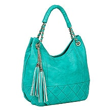 love this shade of turquoise- new spring bag/
