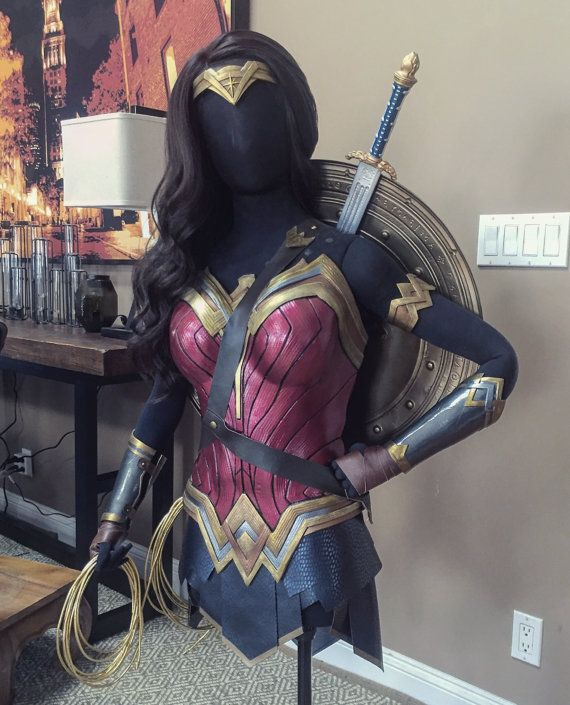 Wonder Woman style movie costume dawn of justice by GVMDesigns - COSPLAY IS BAEEE!!! Tap the pin now to grab yourself some BAE Cosplay leggings and shirts! From super hero fitness leggings, super hero fitness shirts, and so much more that wil make you say YASSS!!!