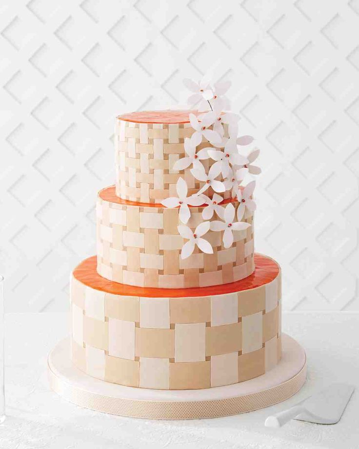 Martha Stewart Orange Almond Wedding Cake