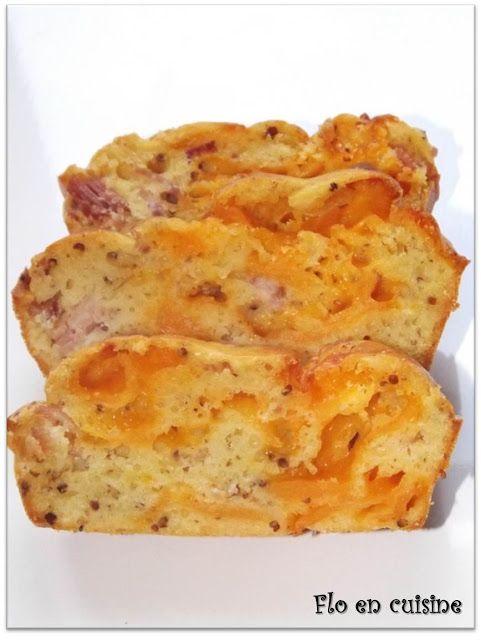 Flo en cuisine: Cake au bacon et au cheddar