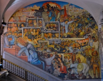 10 images about diego rivera art on pinterest mexico for Diego rivera famous mural