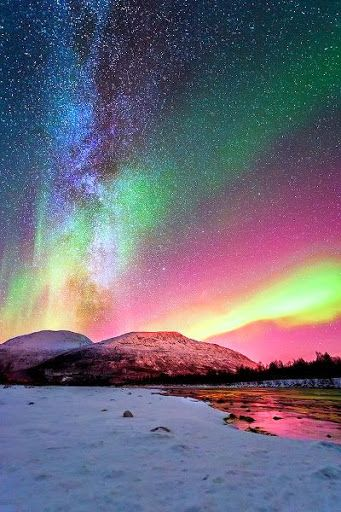 Northern lights…still my dream to see this