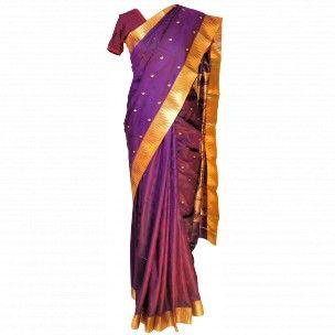 Tissu sari indien pour mariage en soie indienne http://www.merabarata.fr/saris-indiens-en-soie/806-sari-indien-mariage.html Indian silk sari available on http://www.merabarata.fr/saris-indiens-en-soie/806-sari-indien-mariage.html