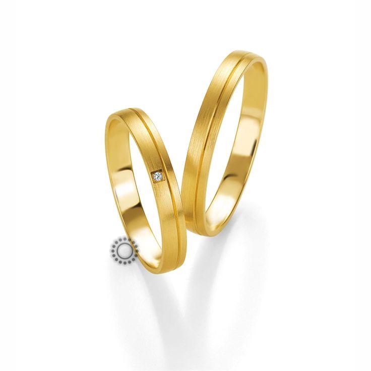 Βέρες γάμου BENZ 005 & 006 - Λεπτές μοντέρνες χρυσές βέρες Benz σε ματ φινίρισμα | ΤΣΑΛΔΑΡΗΣ Κόσμημα - Ρολόι #βέρες #βερες #γάμου