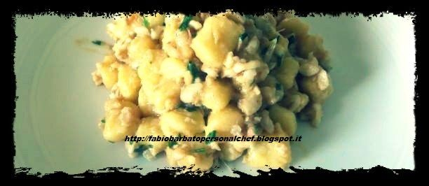 Gnocchetti di Patate alle triglie