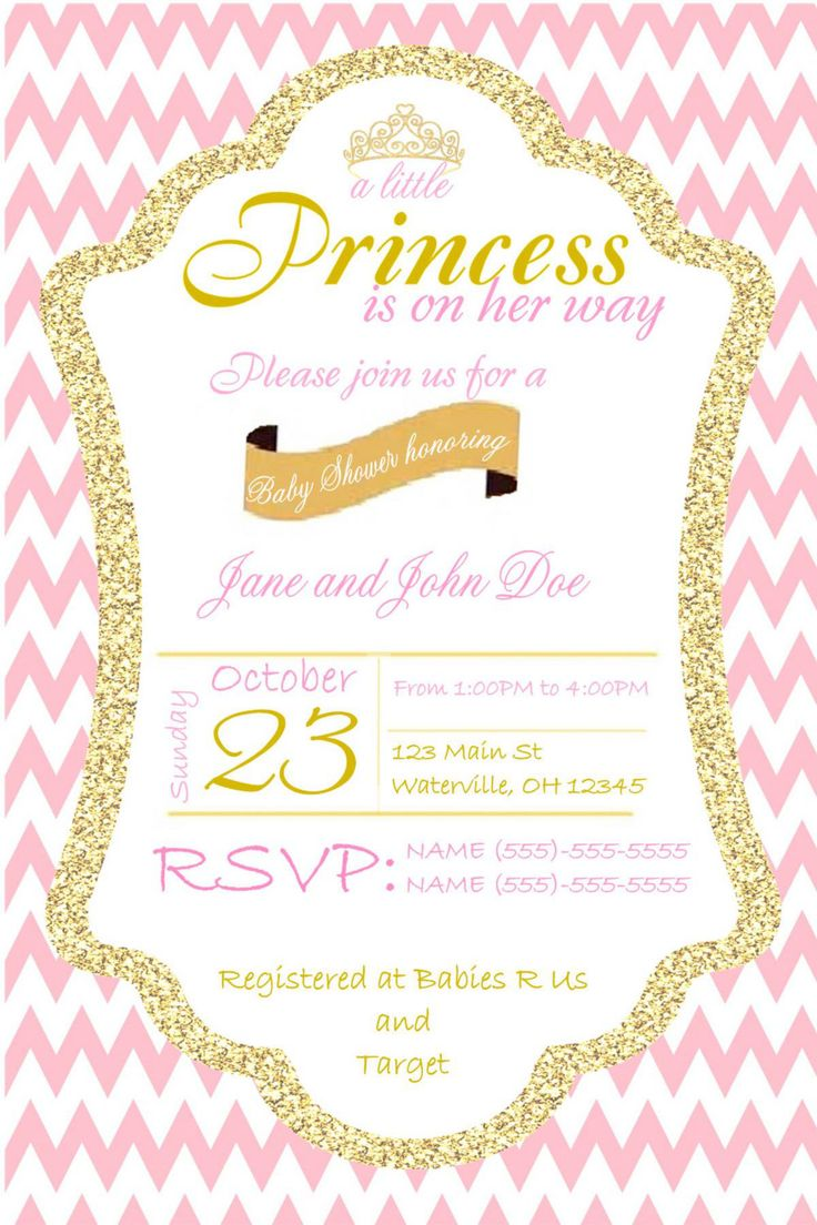 pink chevron baby to shower amazing invitations quatrefoil ready gold pop babyshower the invitation and