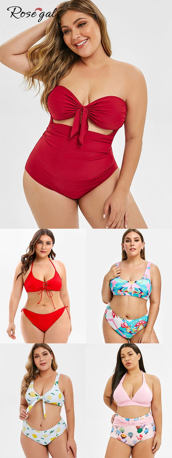 Rosegal plus size tankini new arrivals swimsuit fashion curvy girl ideas