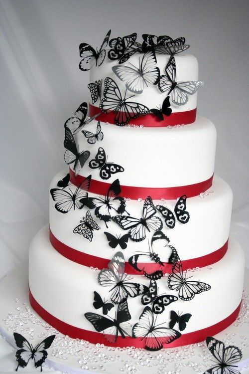 www.facebook.com/cakecoachonline - sharing....Butterfly Cake