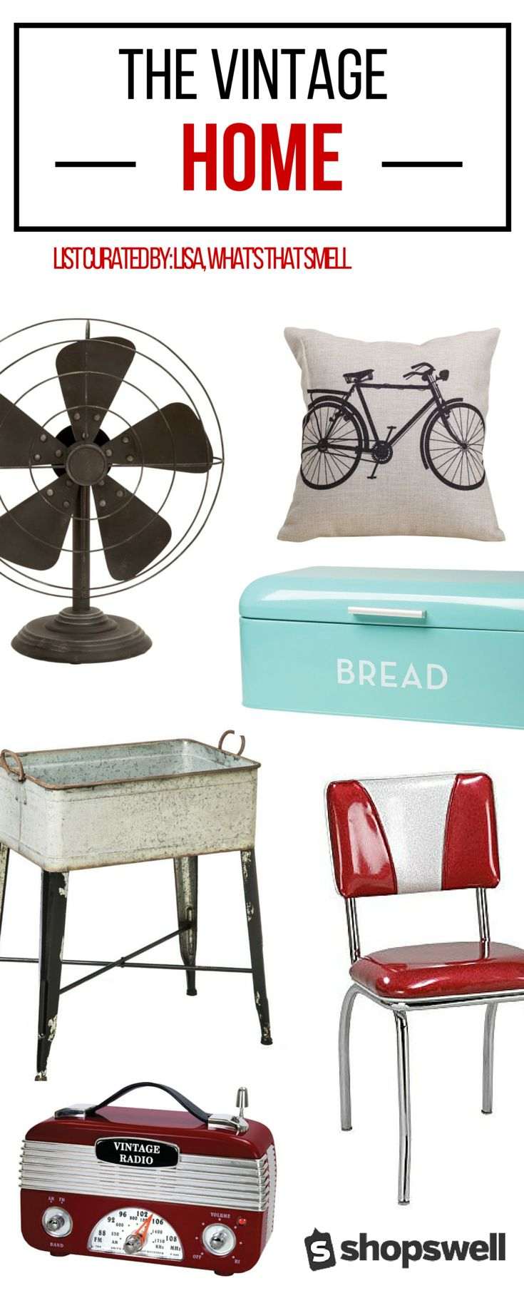 Vintage furnishings and decor items that will help you create a sophisticate retro design feel in your home. Whether you want to go all out and fill and entire room with retro furnishings and decor, or simply accent your current design style with some vintage pieces, it's easy and fun to add some unique flair to your home.