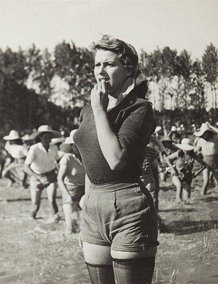 "Italian Vintage Photographs ~ #Italy #Italian #vintage #photographs ~ Silvana Mangano ""Riso Amaro"", 1949"